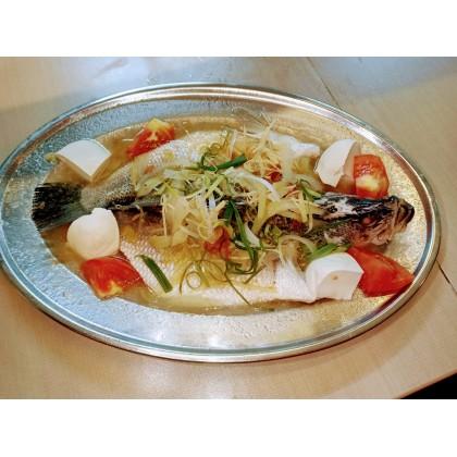 Steam Fish in Teo Chew style